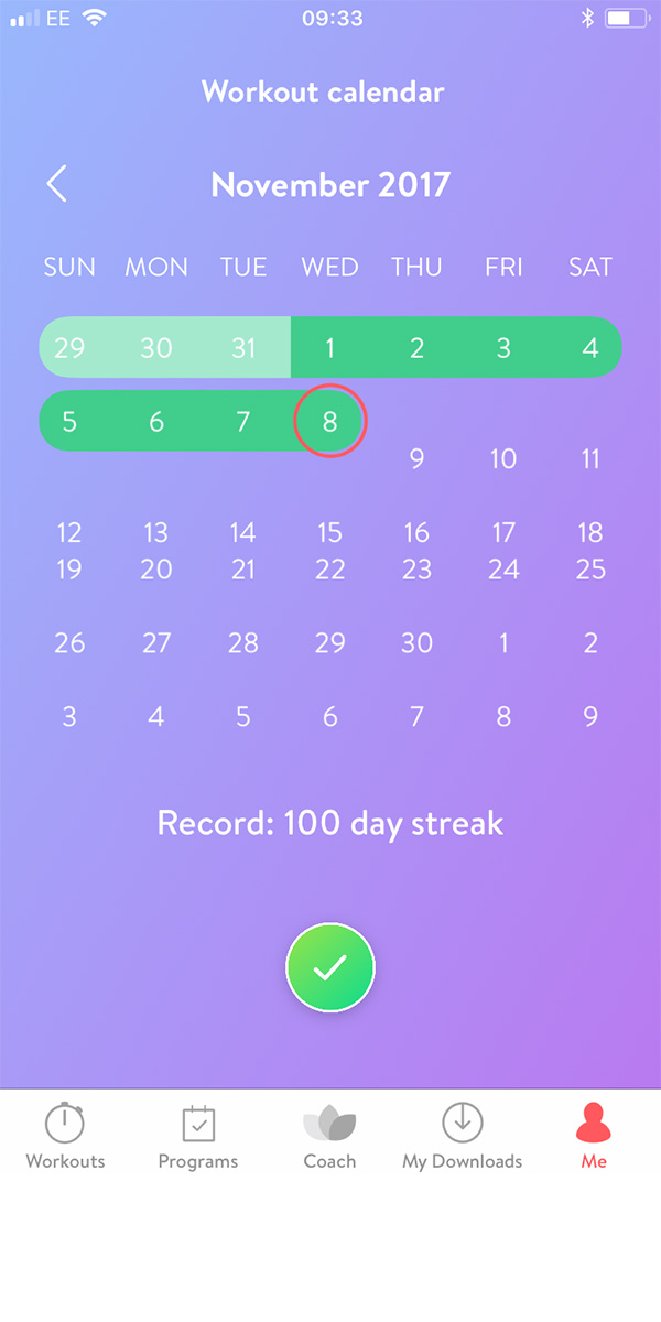 100 days of asana rebel completed